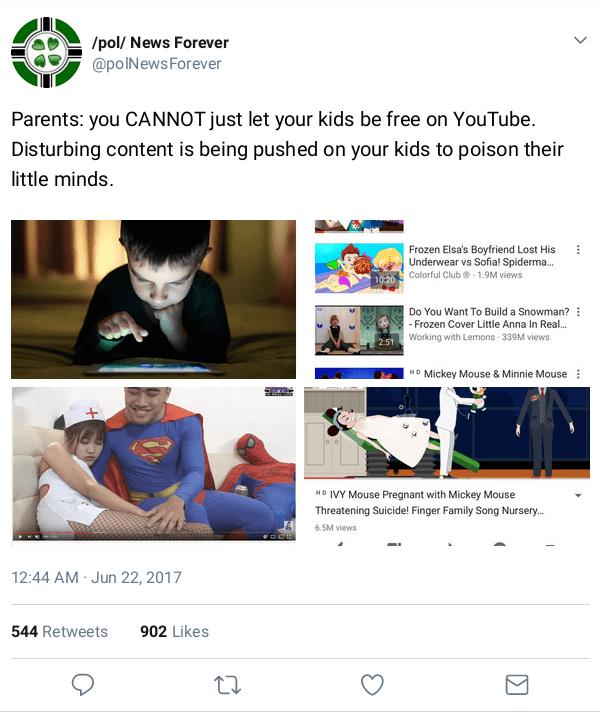 Spuiten op YouTube