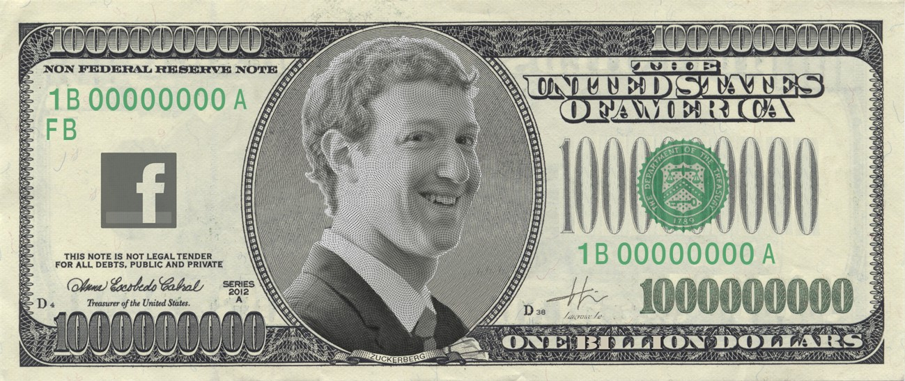 1 Dollar Billion Bill