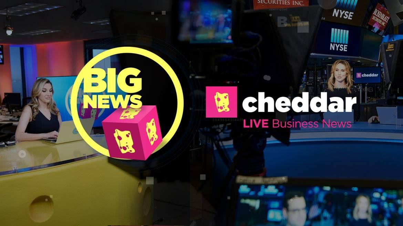 Resultado de imagen para cheddar.com apple tv