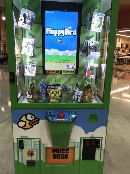 Flappy Bird Is Back   In The Mall     technicat     Medium Even though Flappy Bird was discontinued as a mobile app by its creator  it  lives on in this incarnation is due to the magic of licensing  where a  company