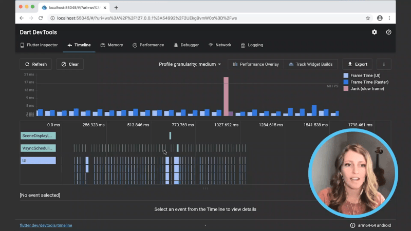 Timeline in DartDevTools… Flutter Day Recap