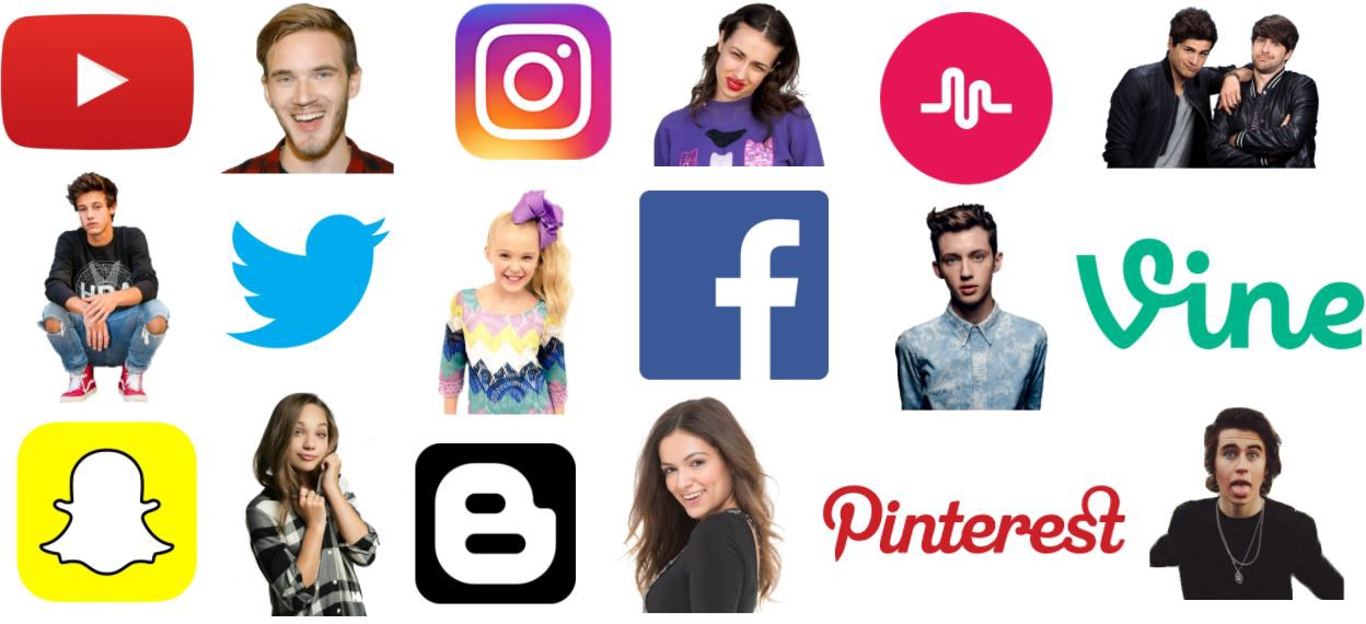 Influencers celebrities, CELEBRITY & INFLUENCER PROFILES