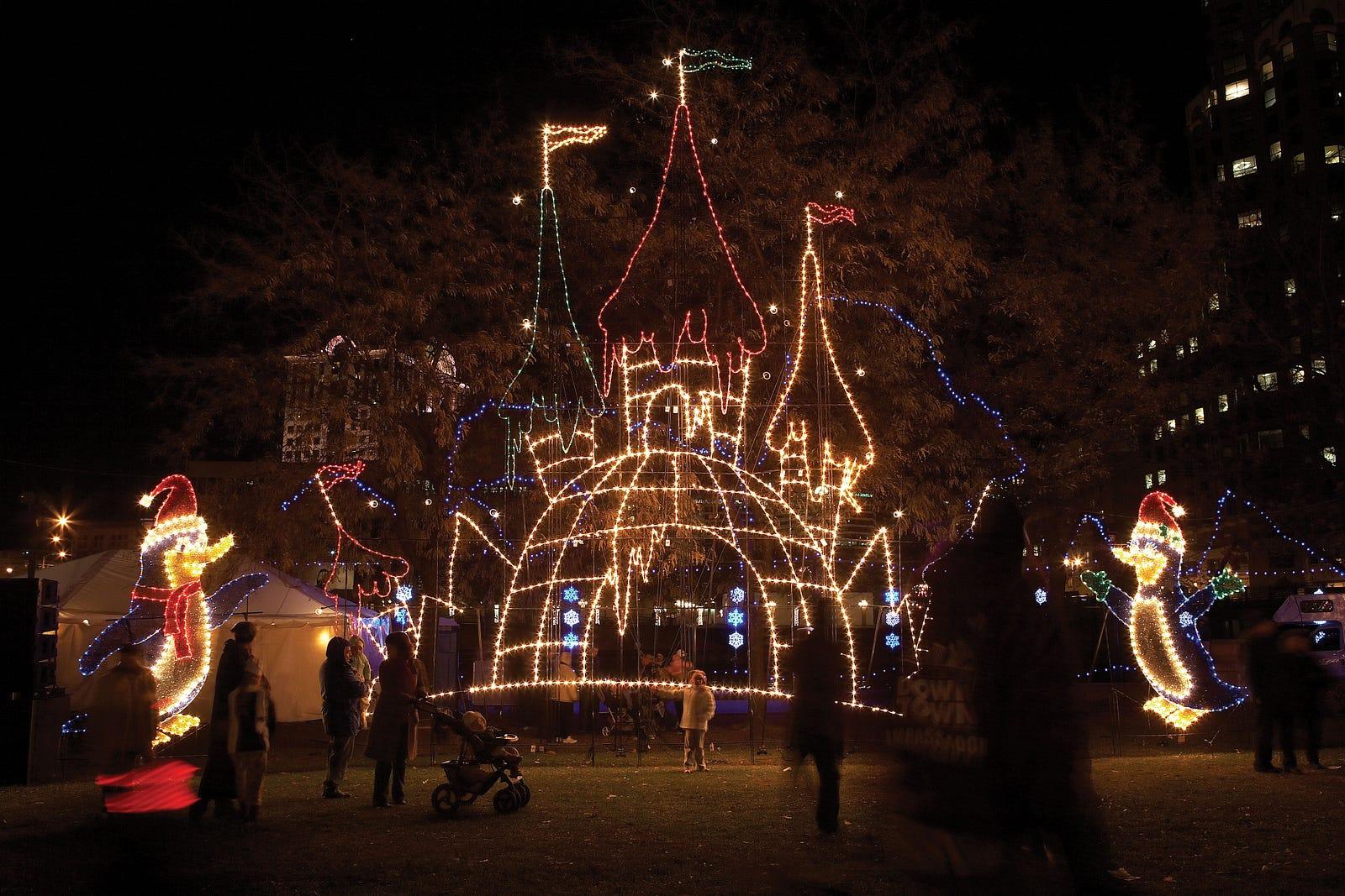 Milwaukee Zoo Lights