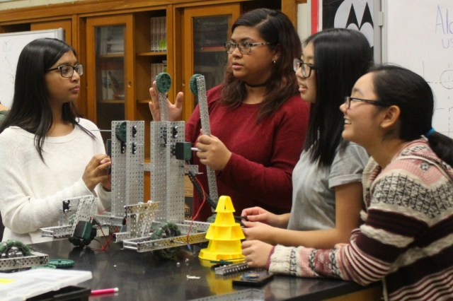Bad Ass All Girls Cps Robotics Team Headed To Nationals If They Can Afford The Trip