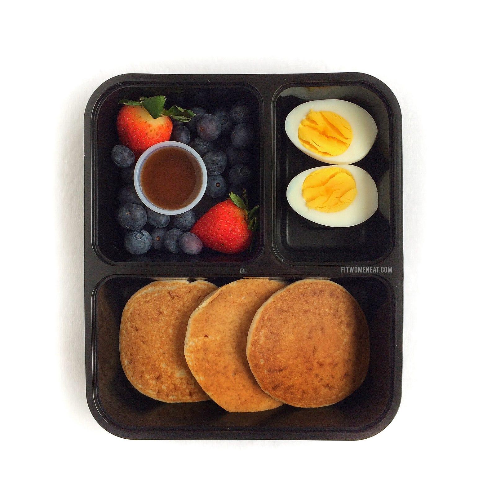 Breakfast Meal Prep Fit Women Eat