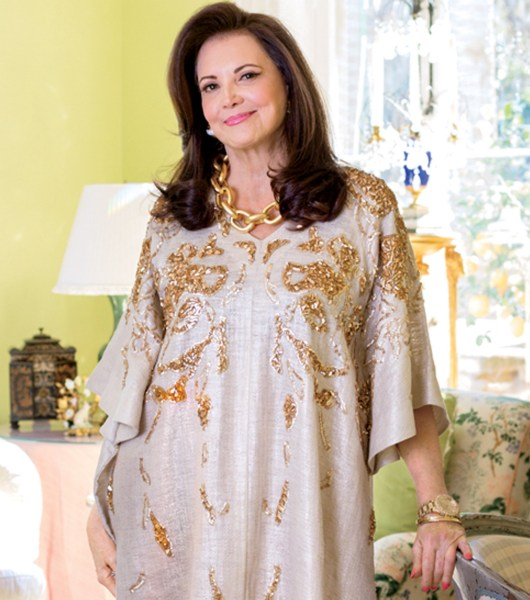 20 Fashion Guidelines For Women Over 40     Bonnie s Mixed Tape Patricia of    Southern Charm     impeccable wearer of kaftans