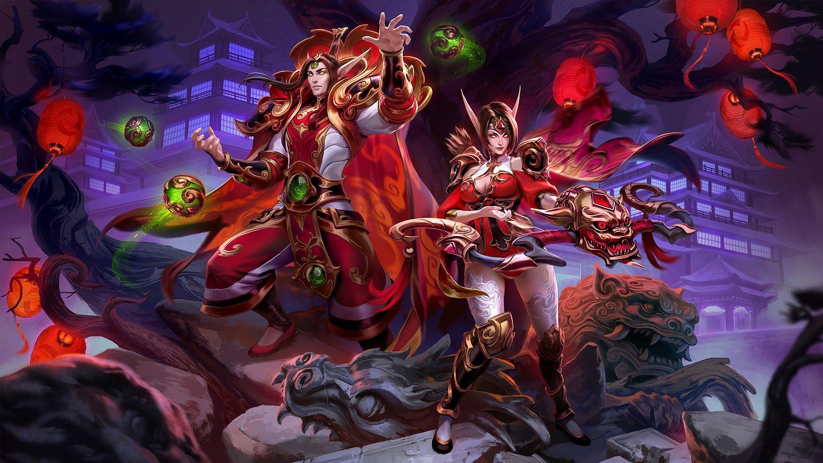 Heroes Of The Storm Lunar Festival 2018 Begins