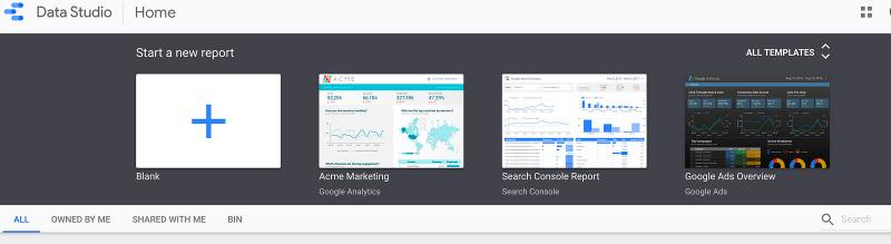 Google Data Studio.