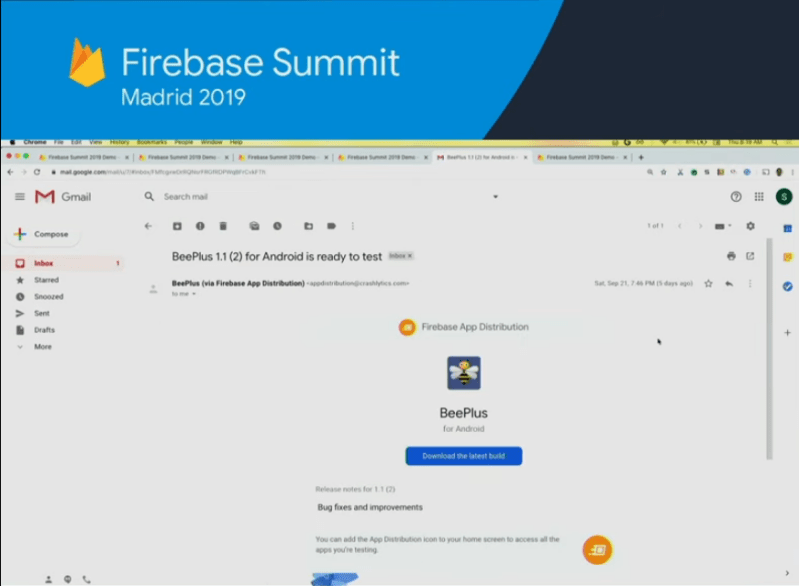 What's New in Firebase 2019….(App Distribution….)