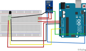 Monitoring data from sensors using ESP 8266 and arduino