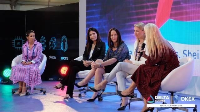 DELTA Summit OKEx Malta Tech Week—Teigi Lee, OKEx's Marketing Director, joining fireside talk at Evening Launch Event