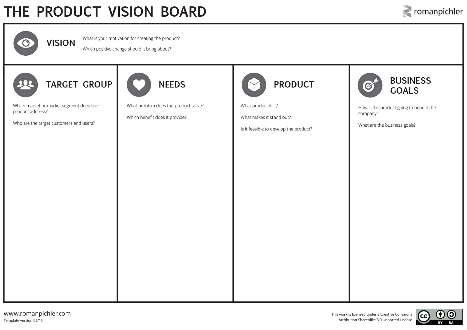 Product Vision Board Darryl Snow Medium