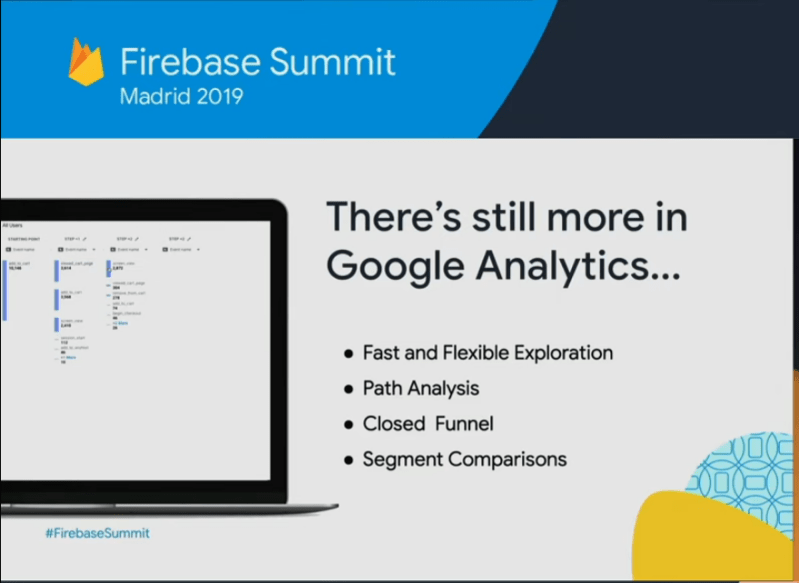Expanded Google Analytics for Web…..(Firebase 2019)