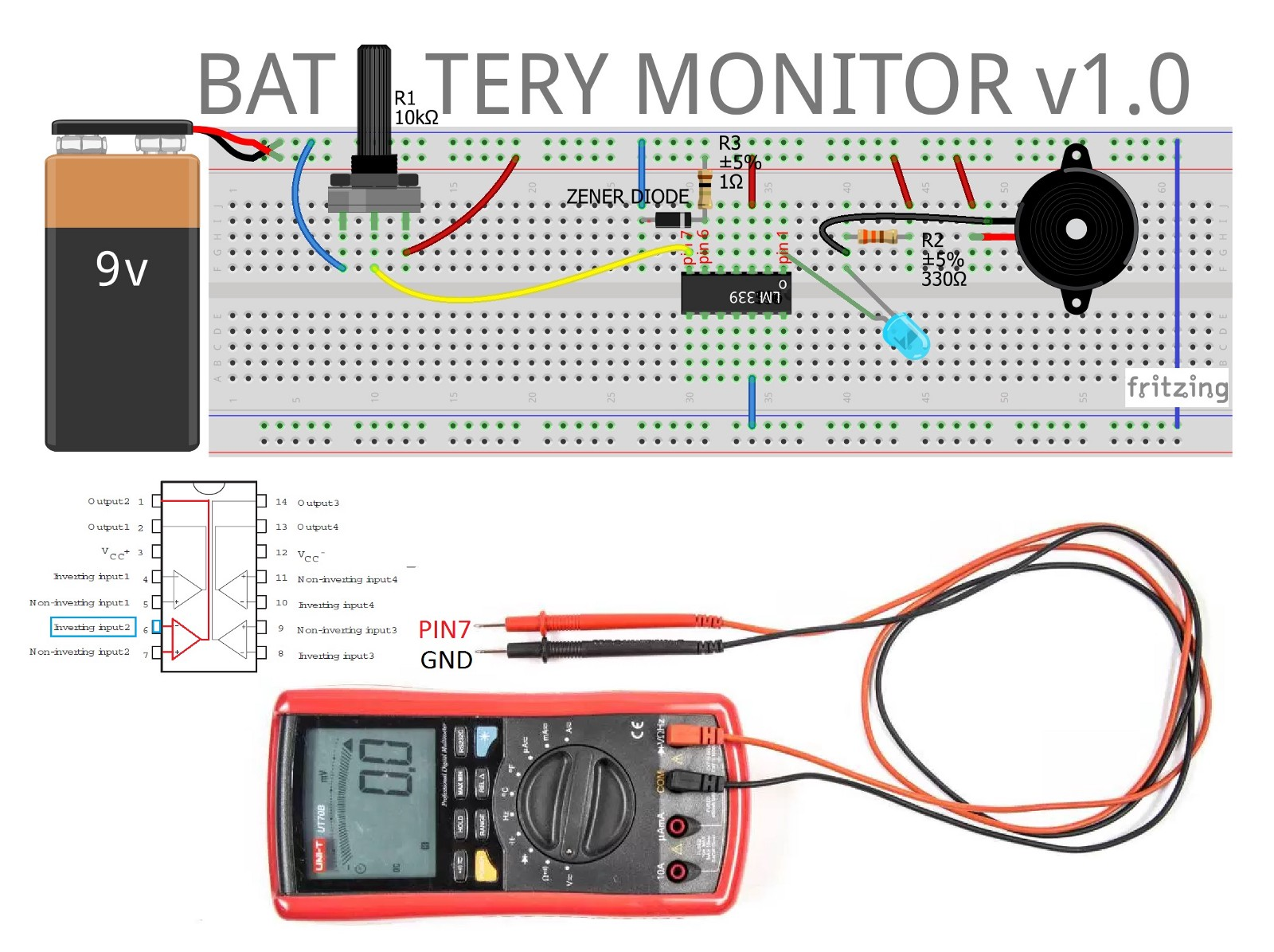 Battery Monitor Circuit
