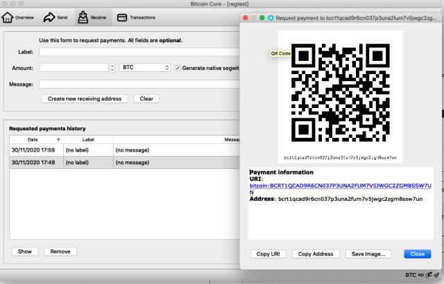 comando raccoglitore linea bitcoin