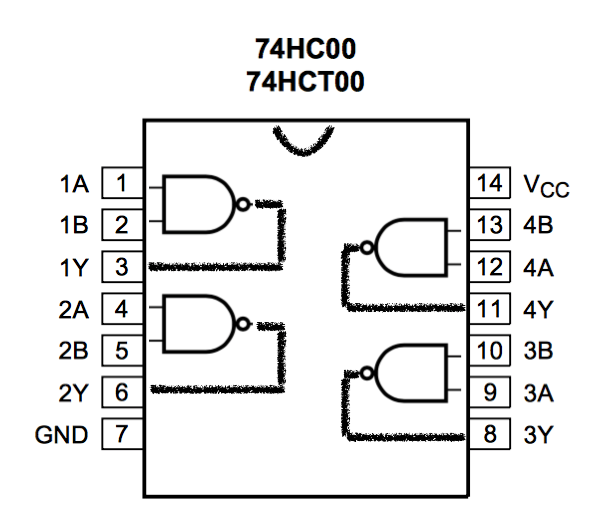 Building A 4 Bit Shift Register From Nand Gates For
