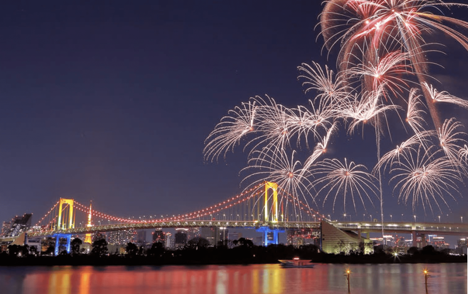 5 Best New Year Countdown Events 2017   2018 in Japan TOKYO NEW YEAR S EVE FIREWORKS COUNTDOWN CRUISE 2017