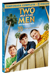dvd two and a half men s10