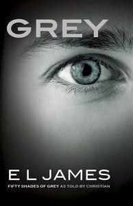 Grey EL James eye