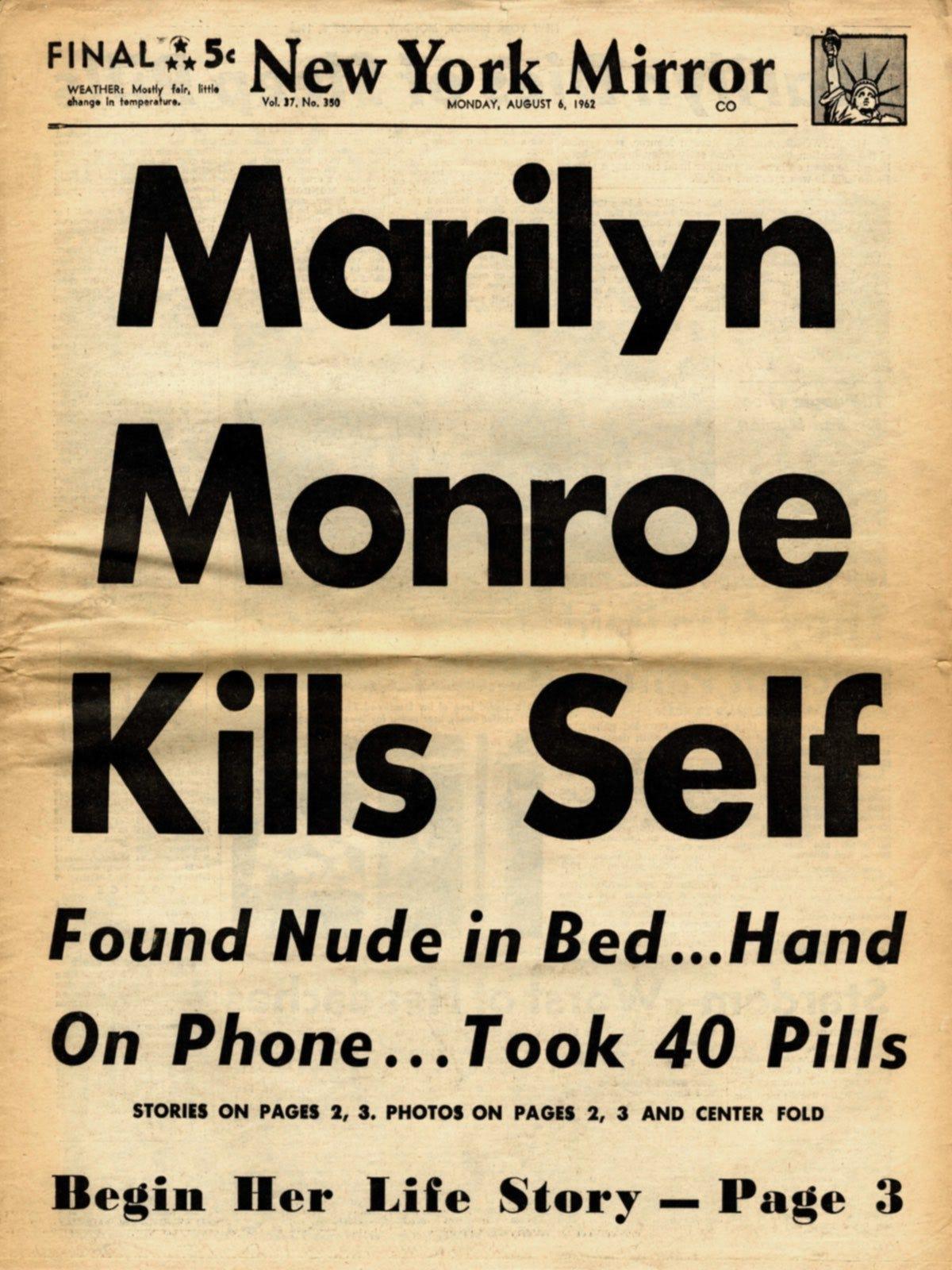 Marilyn Monroe Theunredacted Medium