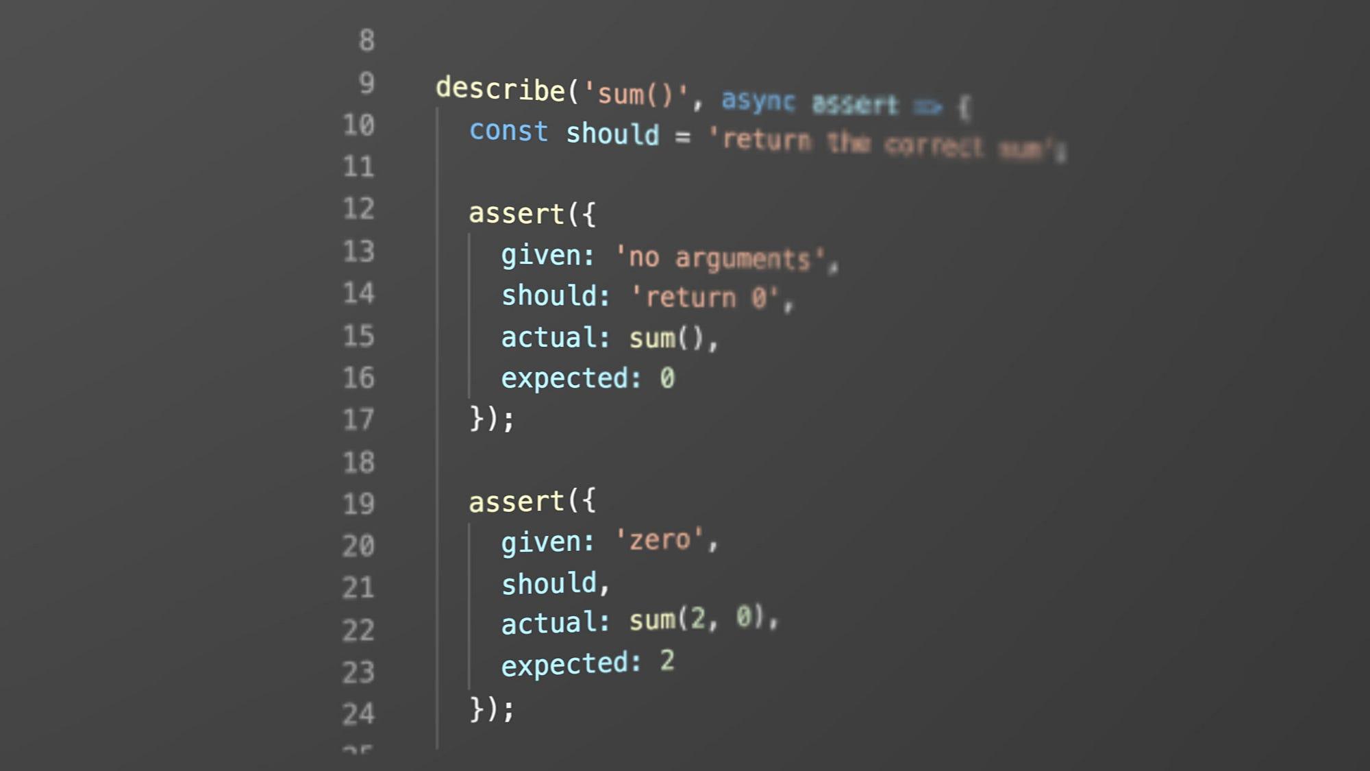 Rethinking Unit Test Assertions Javascript Scene Medium