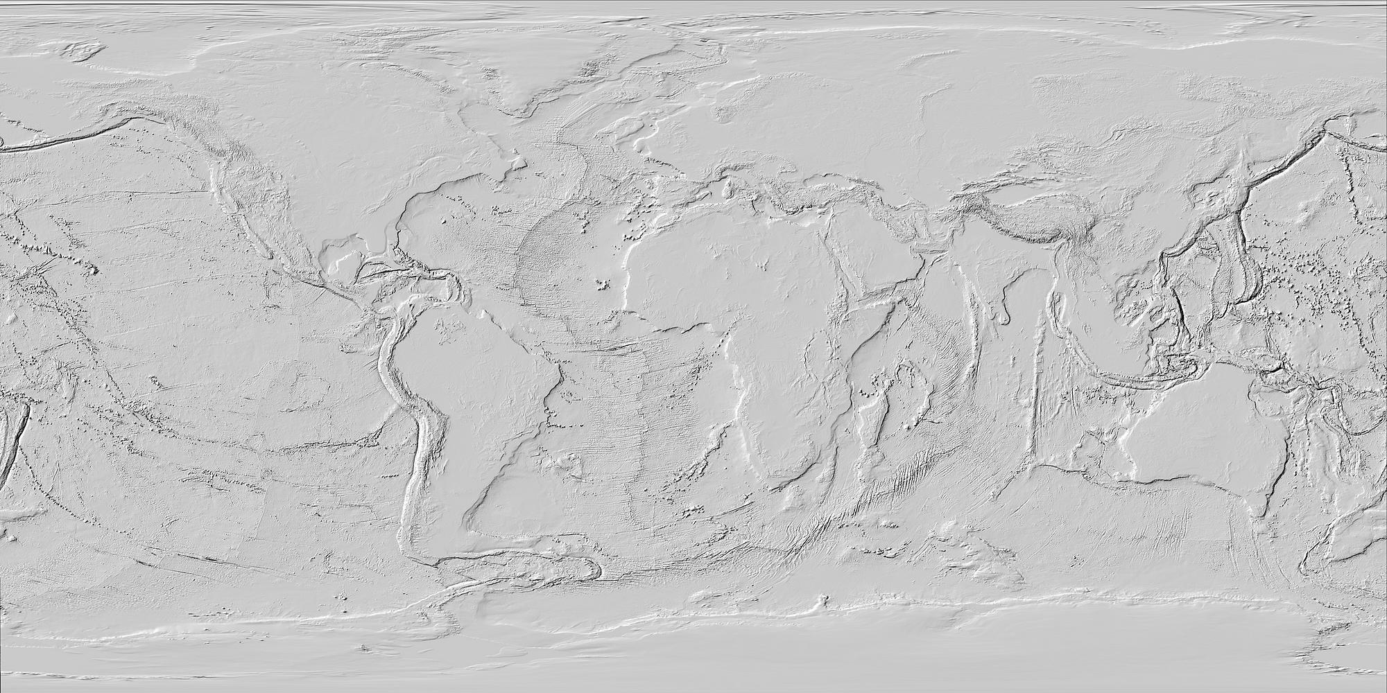Ocean Topography Diagram