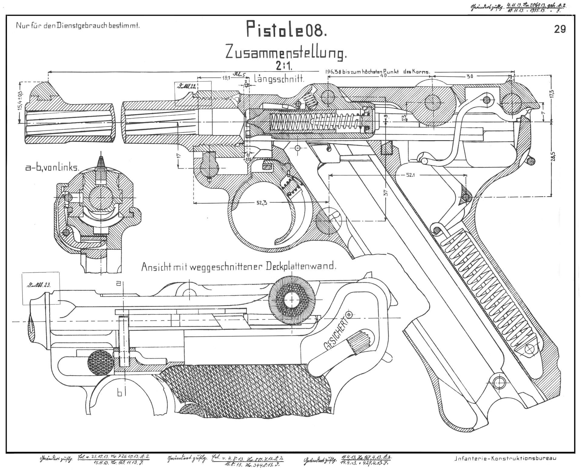 The Nazis Handgun War Is Boring Medium