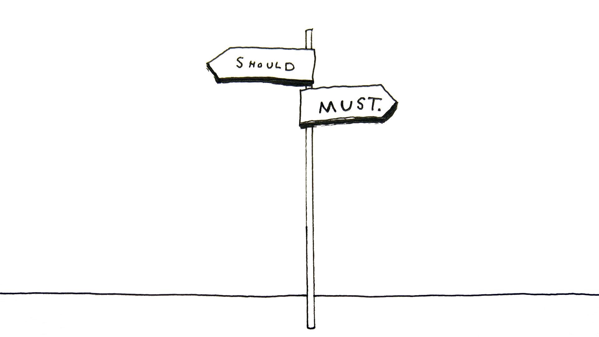 The Crossroads Of Should And Must Elle Luna Medium