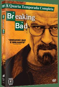 dvd breaking bad season 4