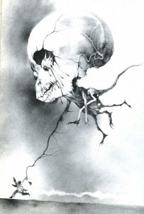 scary stories skull thing