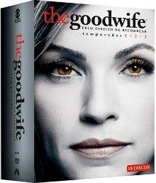 dvd the good wife season 1-3