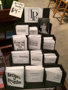 Chapbooks by Woody Leslie