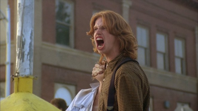 Malachai (Courtney Gains) and the other Children of the Corn go on a murderous rampage led by a religious zealot.