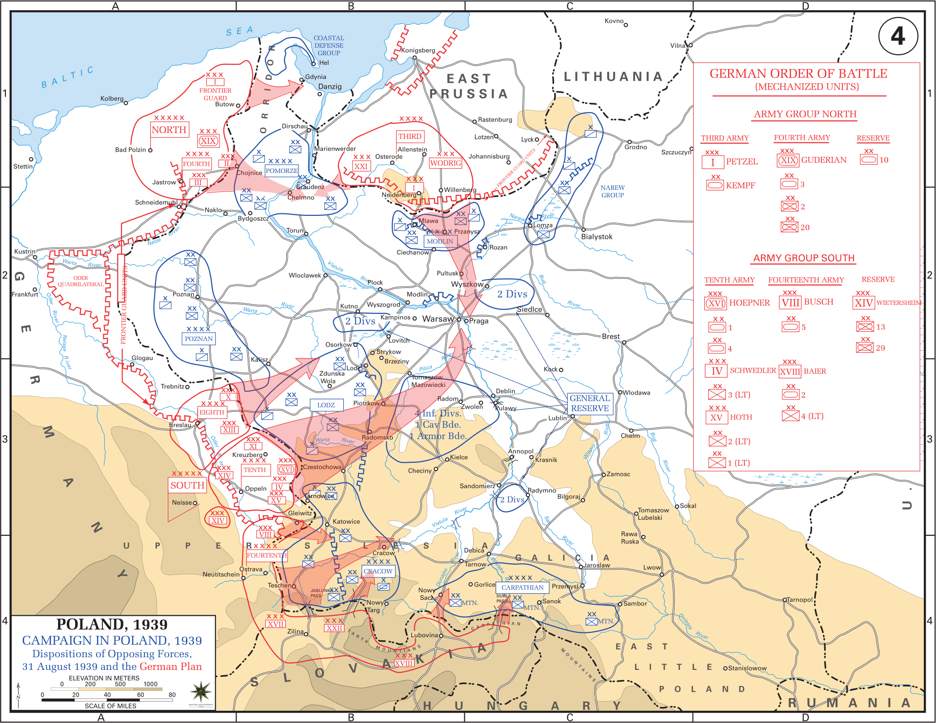Eastern Front Maps Of World War Ii Inflab Medium