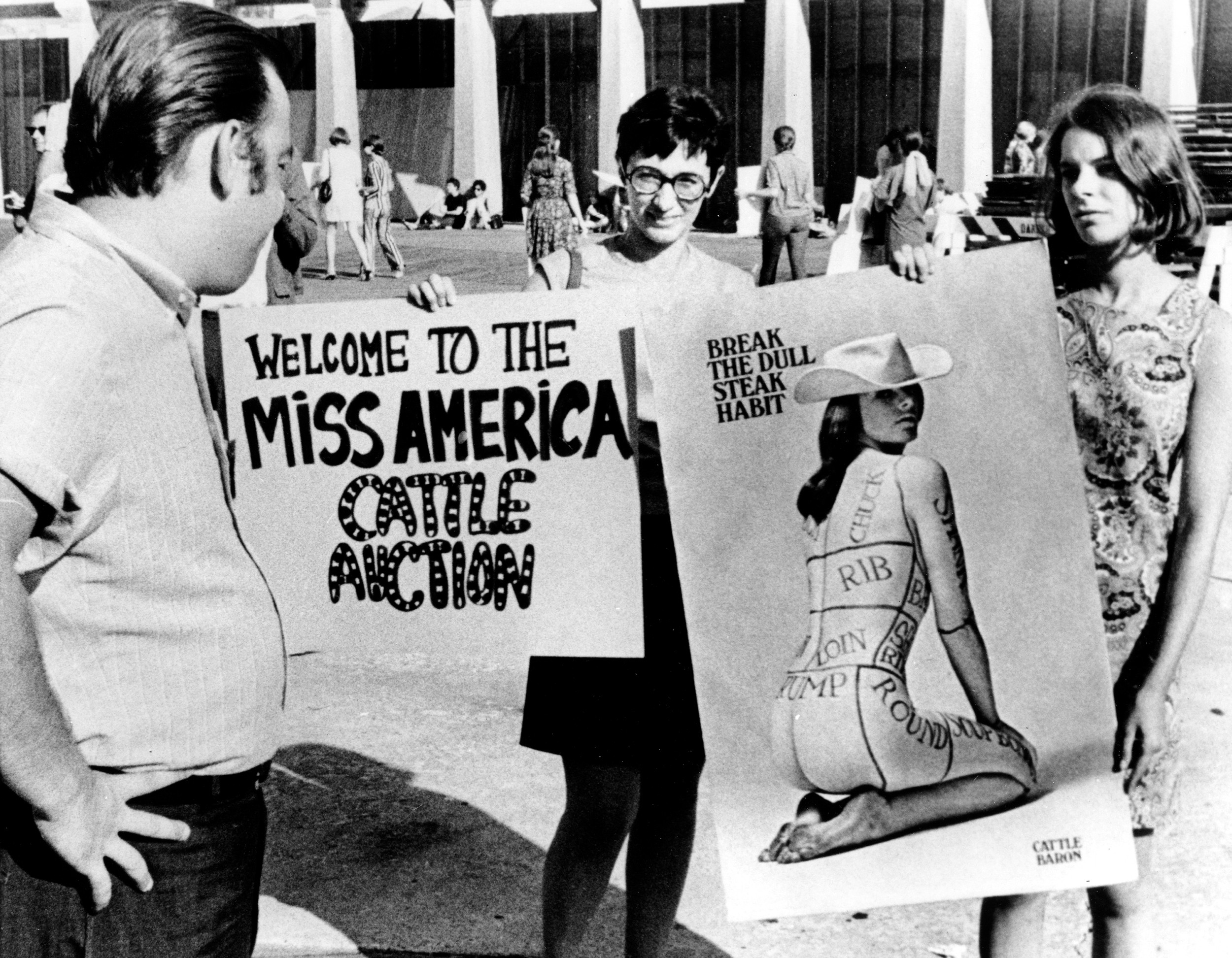 Photos When These Feminists Protested The Miss America