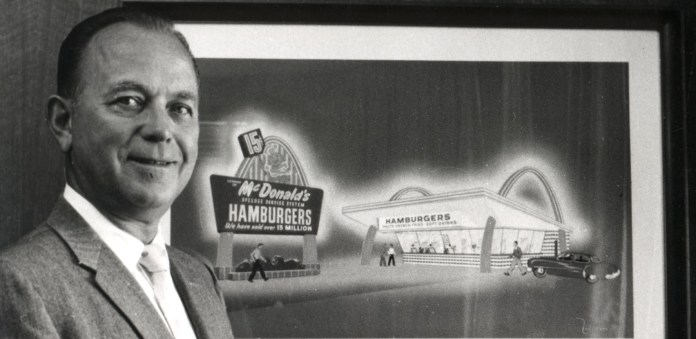 Ray Kroc joined McDonalds as a franchise manager.