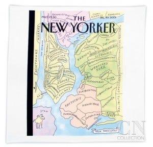 New Yorker pillow