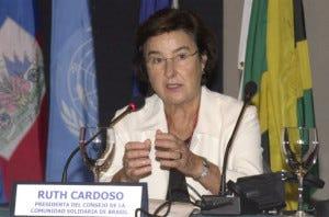 O caso brasileiro: a intelectual Ruth Cardoso