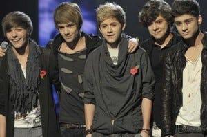 A banda One Direction chegou ao Top 3 do The X Factor UK em 2010, mas acabou perdendo o prêmio para Matt Cardle