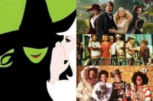 A adaptações da história de O Mágico de Oz