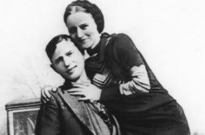 Os verdadeiros Bonnie & Clyde