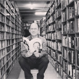 Chris Brayshaw Pulpfiction Books (photo by Sean Conner)2