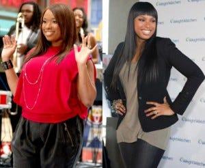 O incrível antes e depois de Jennifer.
