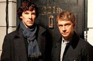 Sherlock, do canal BBC, é uma das séries britânicas mais comentadas da atualidadade.
