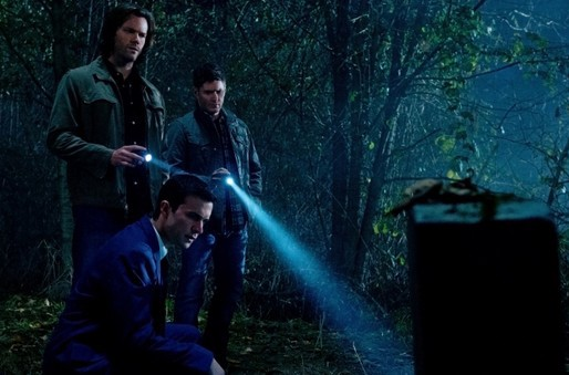 Supernatural 8x12 As Time Goes By