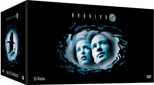 DVD Arquivo X