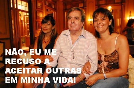 Benedito Ruy Barbosa e filhas