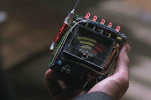 Medidor de Campo Eletromagnético