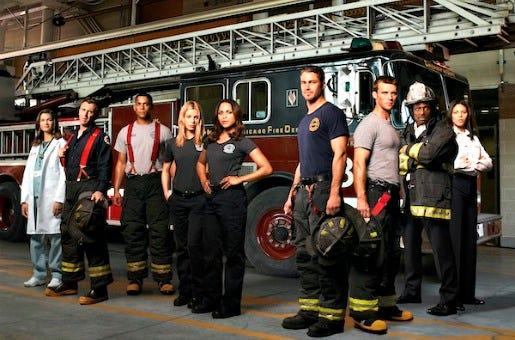 """O """"delicioso"""" elenco de Chicago Fire"""