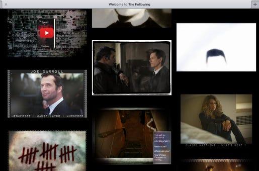 O Tumblr de The Following une várias plataformas e linguagens para engajar o público e apresentar uma nova camada narrativa da série.